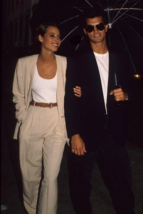 Christy Turlington à New York dans les années 1990