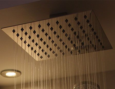 Highgrove Bathrooms - MONSOON BOMPANI 200mm Square Shower Head