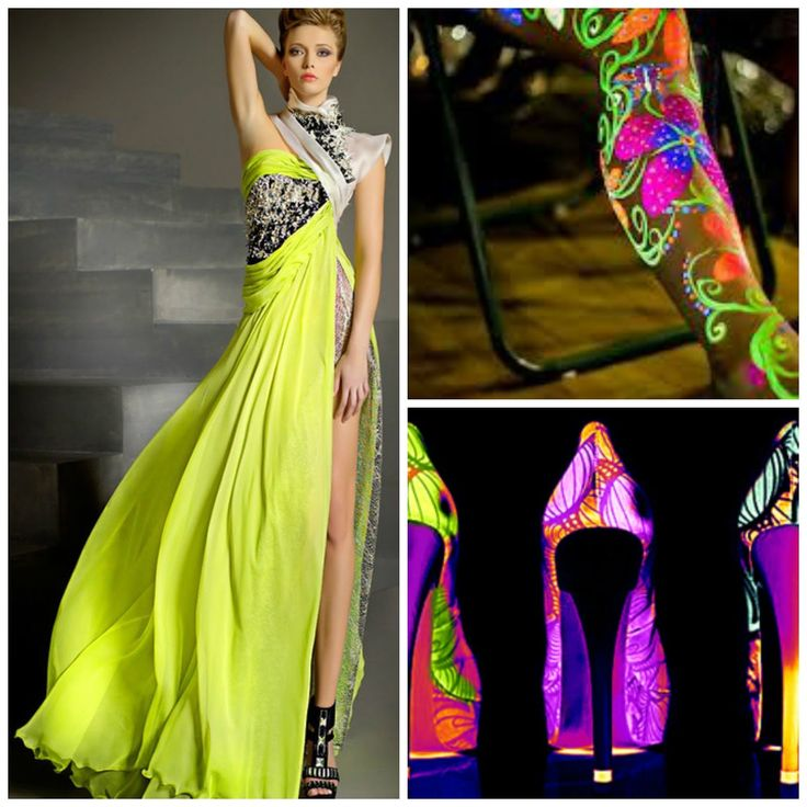 Women neon #dress and high heels #neonparty #women #fashion #ideas #fiesta #15años #bodas #cumpleaños #birthday