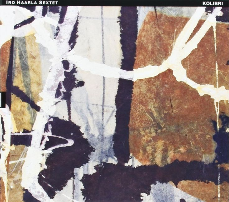 """2013 Iro Haarla Sextet - Kolibri [TUM Records TUMCD035] artwork: Jukka Mäkelä """"Joki (River)"""" (2005) #albumcover #Abstract #art #Jazz #music"""
