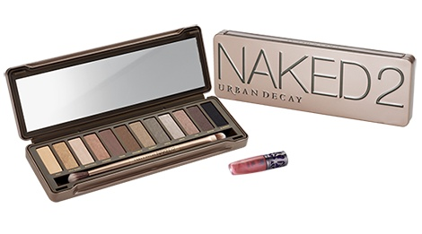 Naked2 Palette    You demanded it – more NAKED shades to obsess over. This latest collection of twelve never-boring neutrals (5 of them NEW!) in matte, shimmer and glitter textures expands your range of sultry looks.