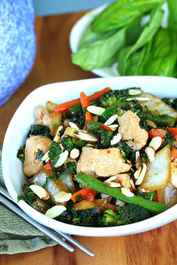 stir fry thai chicken stir fry thai basil chicken thai thai stir fry ...
