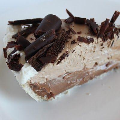 Double Layer Chocolate Cream Pie