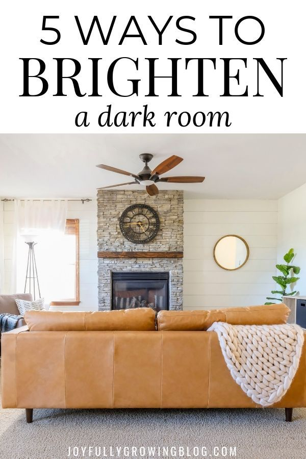 How To Brighten A Room With These 5 Easy Tips Dark Living Rooms