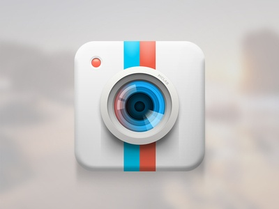 Dribbble - Piclab Icon by Roberto Nickson