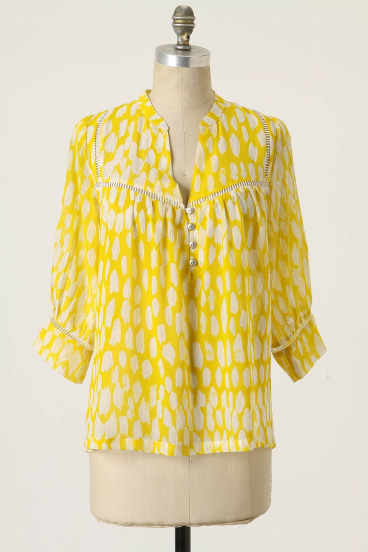 Flowering Pasture Blouse: by Dolan (from Anthropologie)