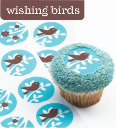 edible icing cupcake toppers
