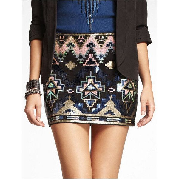25  best ideas about Aztec sequin skirt on Pinterest | Aztec skirt ...