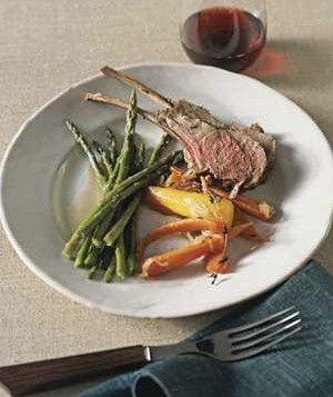 Roast Rack of Lamb | Real Simple Recipes