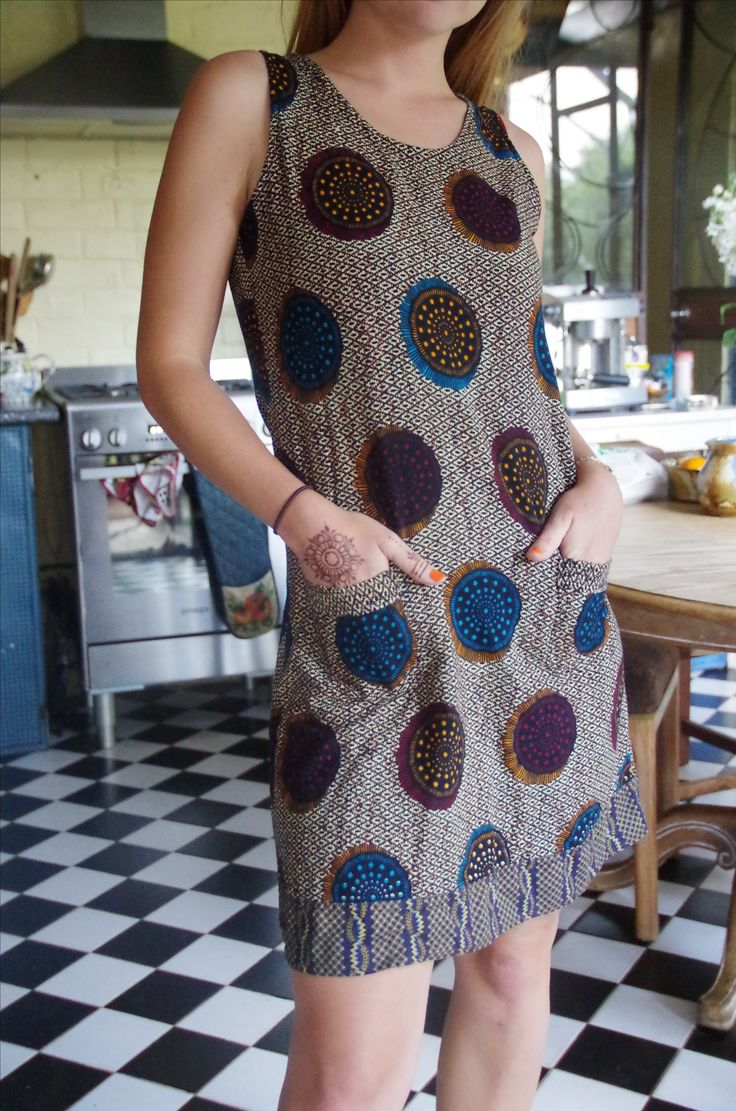 2011. Own pattern. Shweshwe fabric (Da Gama textiles)
