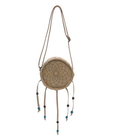 Another great find on #zulily! Chamois Peace Drum Crossbody Bag by Love Trove #zulilyfinds