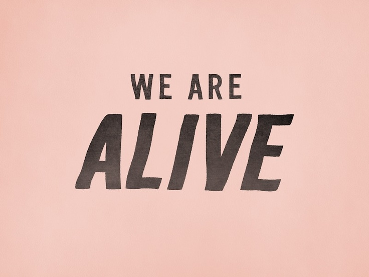 Trevor Baum · Design  · We Are Alive