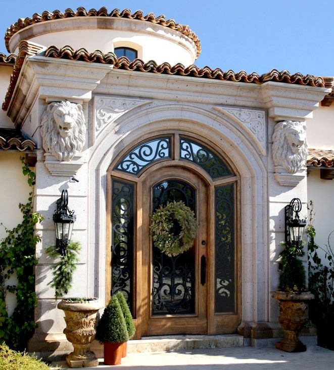 86 Best 05 Mediterranean Style Homes Images On Pinterest: 165 Best Mediterranean Doors Images On Pinterest