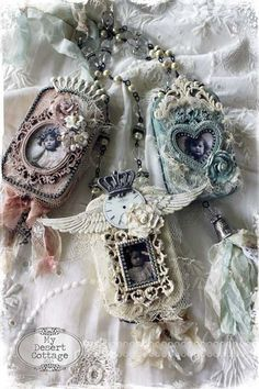 **My Desert Cottage**: Altered Tin Necklace/Keepsake Box Class at Audrey's in Phoenix