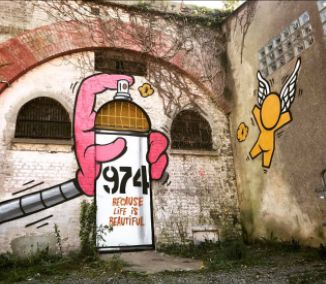 Street Art by Jace : Angel