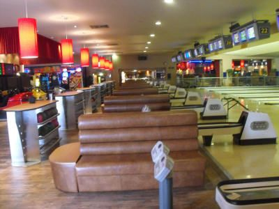 D Shaped Banquette Fixed Seating Units,Designed,Manufactured and Installed For Cadonas Amusment Park Aberdeen These Fixed Seating Booth were designed for the Ten Pin Bowling alley in which were cover In Real Leather. - See more at: http://www.sigcontracts.co.uk/bespoke/8.php