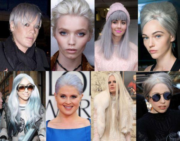 А вы знали, что ваша бабушка та еще модница? Цвет седых волос сейчас на пике популярности. Этот дерзкий тренд не для всех – только для смелых уверенных в себе. Вы наверняка видели Риану, Келли Осборн, Николь Ричи, Пинк, Леди Гагу и многих других знаменитостей с седыми волосами. Они выглядят невероятно! А вы готовы рискнуть и удивить всех?