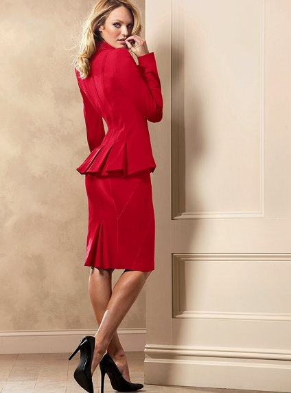 126 best red skirt suit images on Pinterest