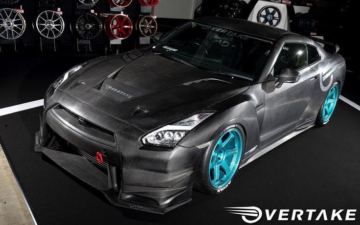 Overtake GT-R | Carbon Fiber Godzilla | http://www.modifiedperformanceparts.com/overtake-gt-r-carbon-fiber-godzilla/