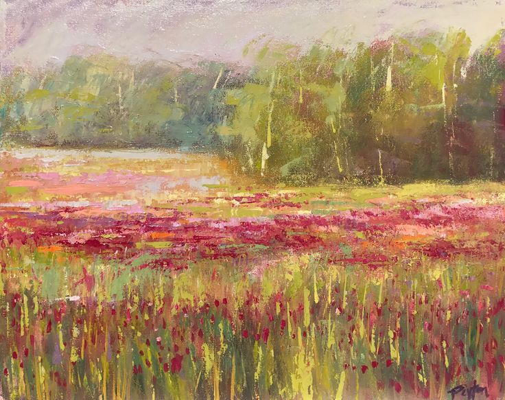 Red Clover, Mississippi, 16x20, oil on canvas, www.peytonhutchinson.com