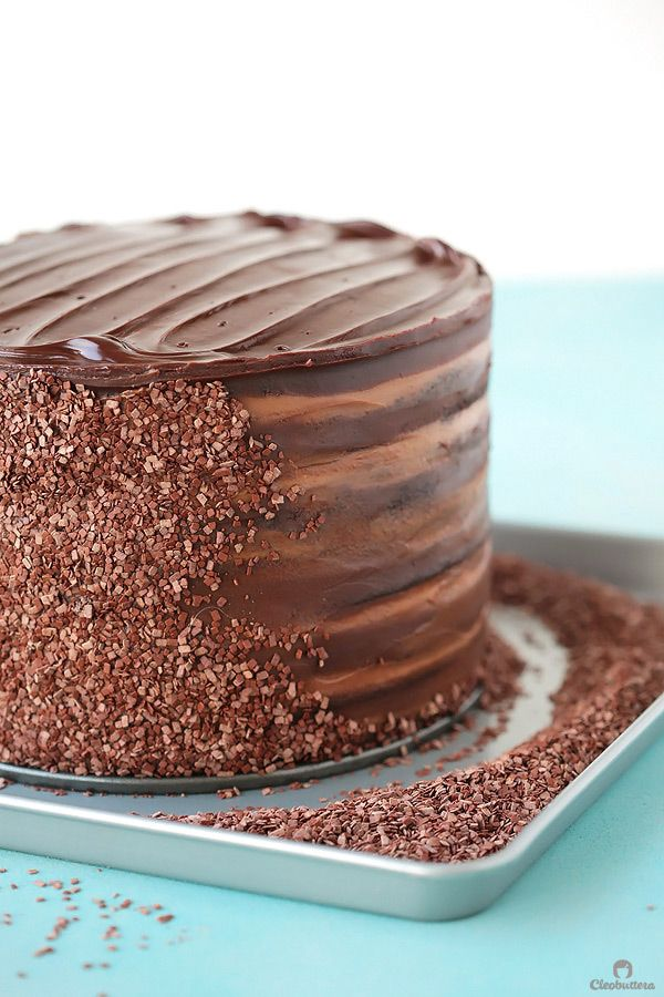 Twelve layers of chocolate cake filled with alternating layers of silky chocolate pastry cream and rich fudgy chocolate frosting.  This 6-inch tall mega cake might just be the best chocolate cake you'll ever taste. So where do we begin here? With how much I've missed you and my immeasurable appreciation for you? or by...Read More »