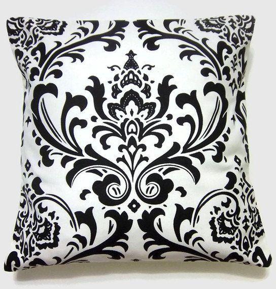 Black And White Decorative Throw Pillows : Black and White decorative pillows Black/White Pinterest