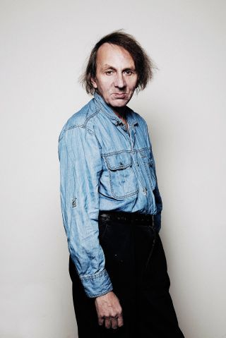 January 26, 2015 -- Adam Gopnik reviews Houellebecq's new novel: http://nyr.kr/1xnNSqI (Photograph by François Berthier / Contour by Getty)