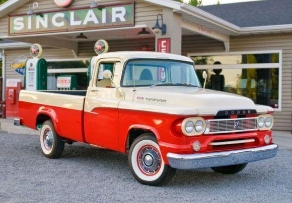 1960s bronco | 1960 Dodge D100 Pickup Truck For Sale Front
