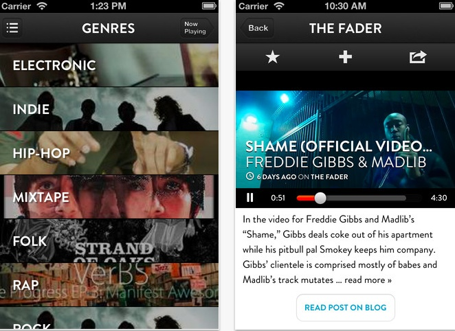 "Shuffler.fm Brings Its ""Flipboard For Music"" Service To iPhone, Offers Sneak Peek At Spotify App"