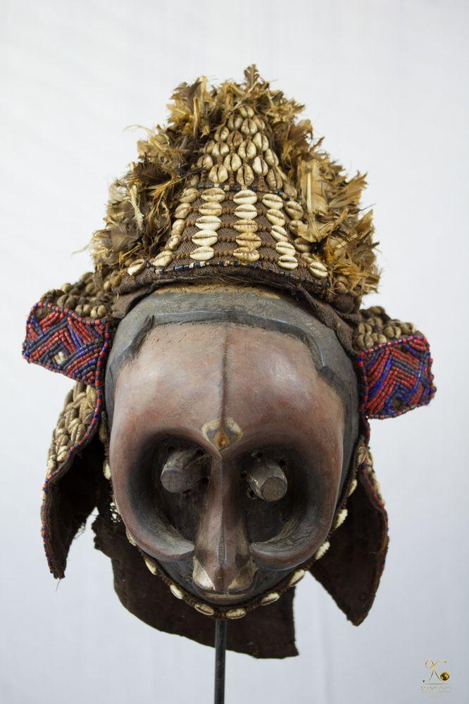 Kuba (Pwoom Itok) African Mask - Congo DRC