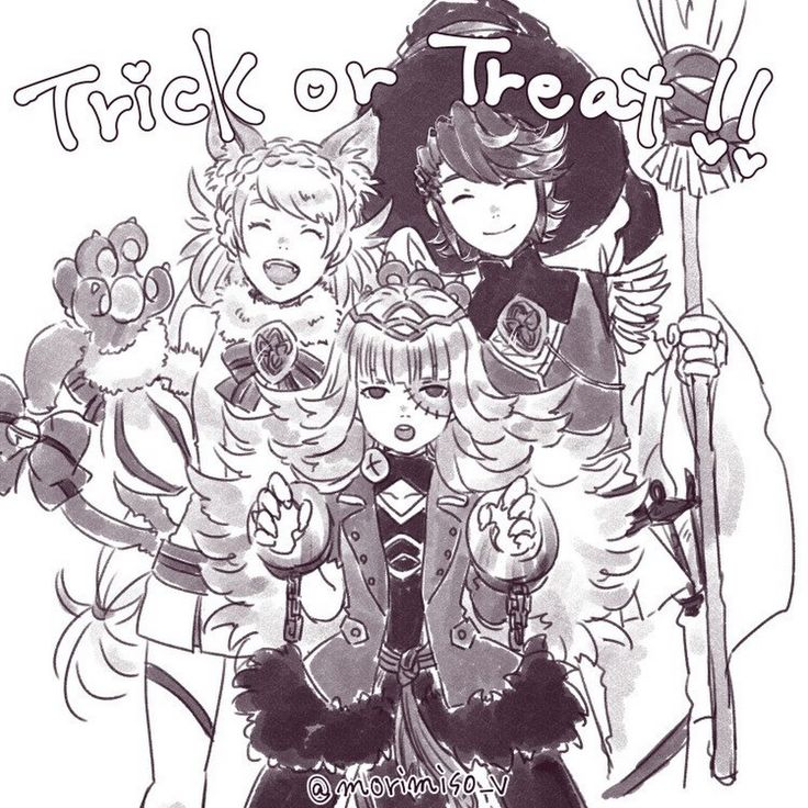 """Happy Halloween my friends!"" +Alfonse The Askr Prince"