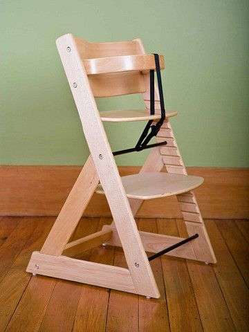 Soho Wooden High Chair - Natural