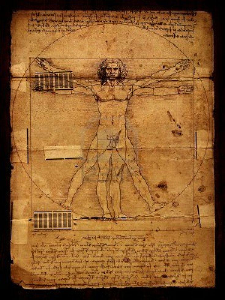 photo of the vitruvian man by leonardo da vinci from 1492 on textured background stock photo. Black Bedroom Furniture Sets. Home Design Ideas