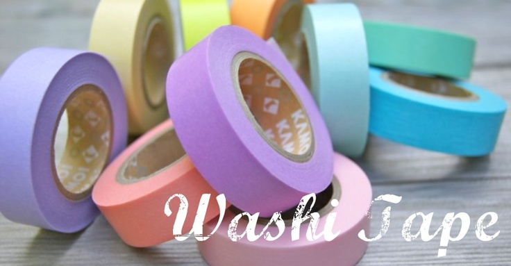 What Is Washi Tape?  Here's a little 101 on what washi tape is