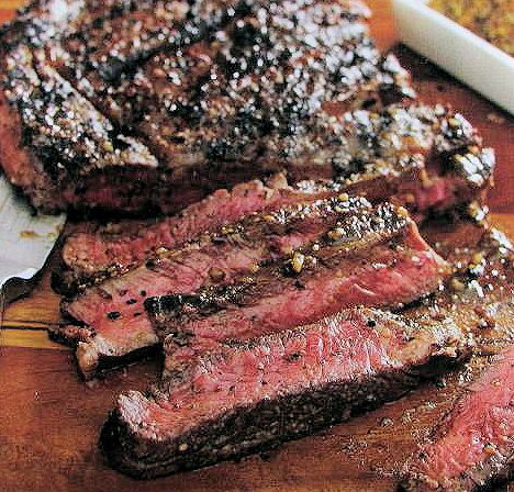 Cuban Style Marinade gives this sirloin steak a zesty and tropical flavor hit. Team it up with your favorite tropical salad for a barbeque that is a hit.