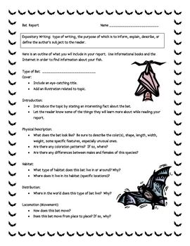 a report on bats Bats in the home learn how to evict and bat house plans this guide also features a key to identifying the nine bat species in massachusetts report bat colonies.