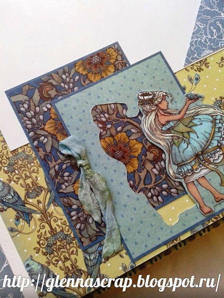 """Волшебный мир ручной работы от Glenna: Альбом для фото """"Волшебная страна"""""""