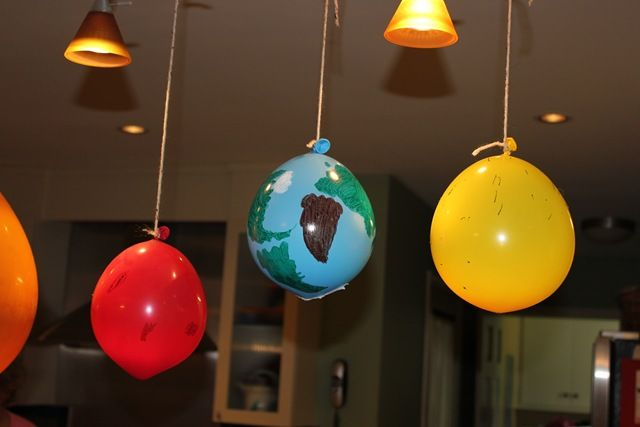 17 best images about space classroom theme on pinterest - Hanging planets decorations ...