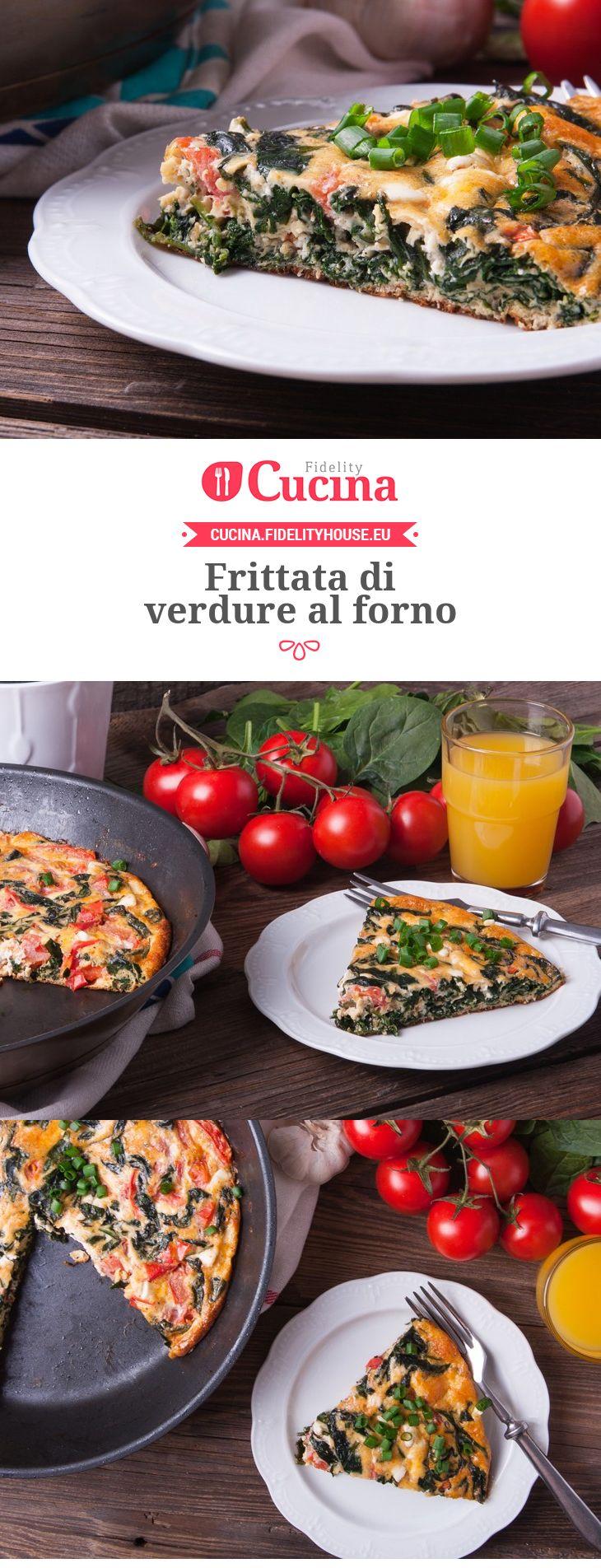 #Frittata di #verdure al forno