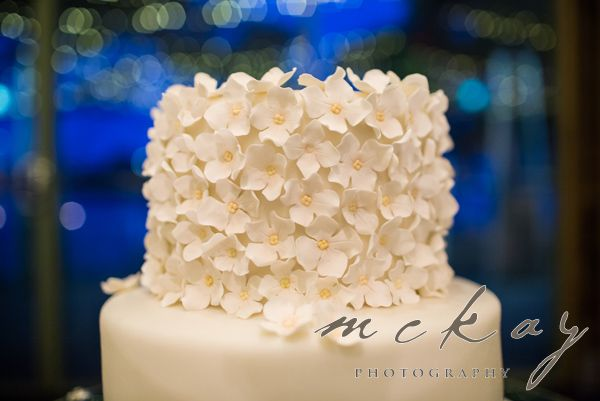 Awesome floral cake detail