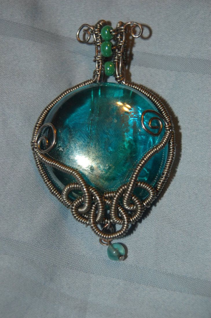 150 best Wire Wrapping images on Pinterest | Wire jewelry, Jewelery ...