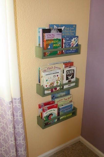 wall mounted bookshelves for kids foter - Wall Mounted Bookcase