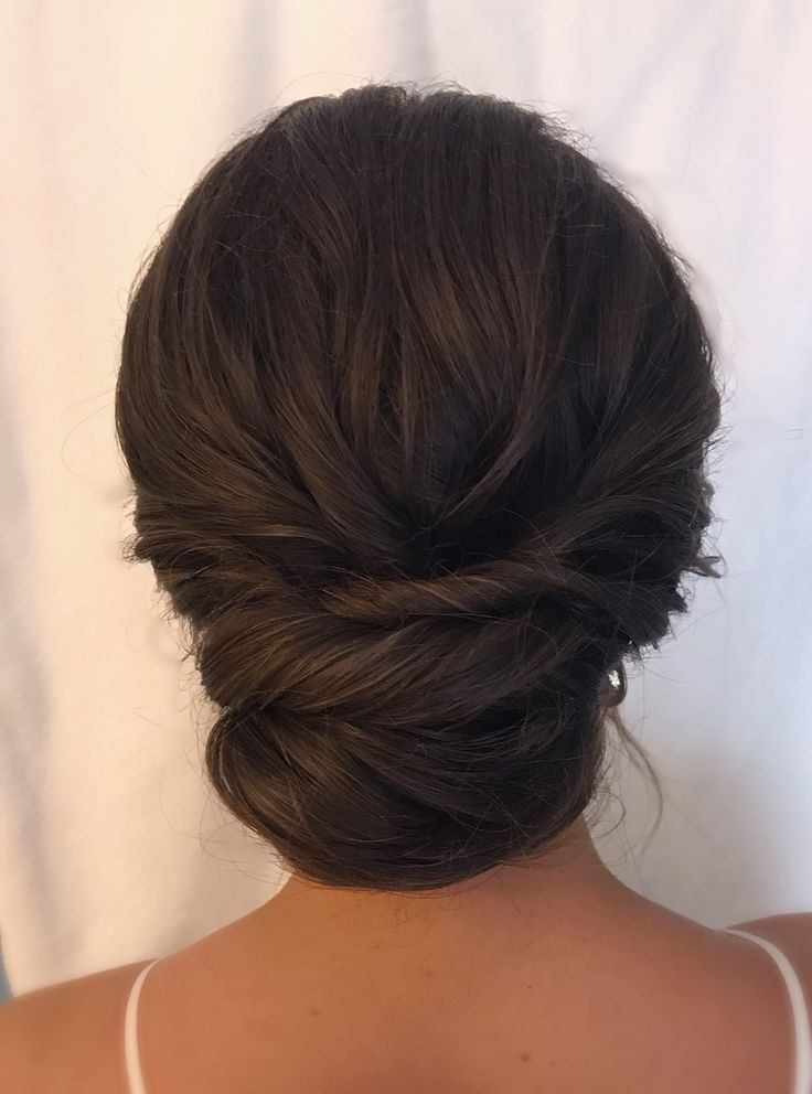 brunette updo ideas