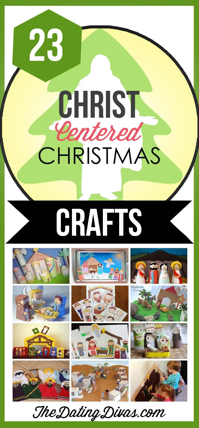 Fun Christ-Centered Christmas Crafts and Activities for Kids- SOOO many good ideas in this one!! TheDatingDivas.com