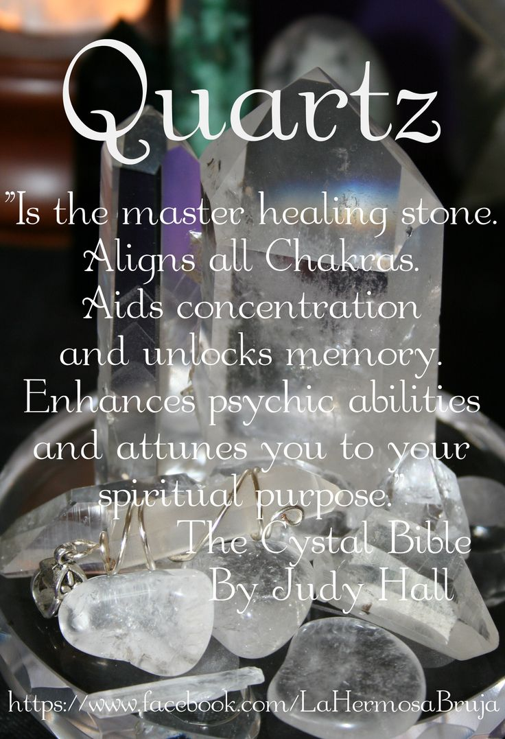 quartz crystal healing