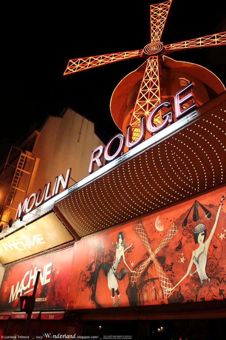 Moulin Rouge _ Paris 2013 ( #paris #wonderland #lucywonderland)