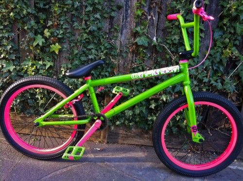 Aaron Ross Watermelon bike