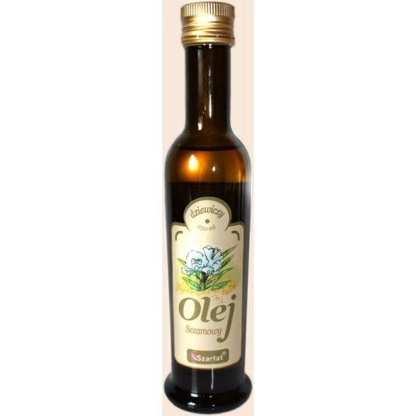 Olej sezamowy zimnotłoczony 250 ml