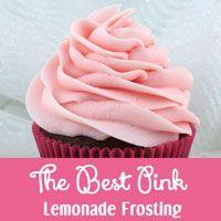 The Best Pink Lemonade Frosting