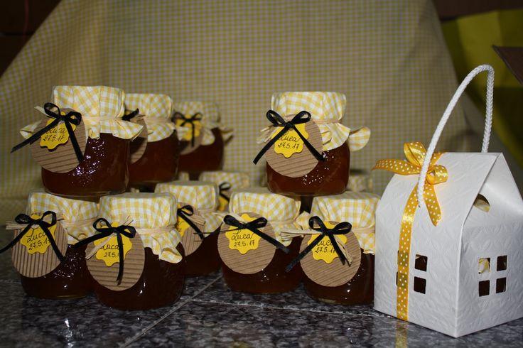 #Miele artigianale #tema api# country# fattoria# estate#giallo# nero#giallo e nero#bomboniere